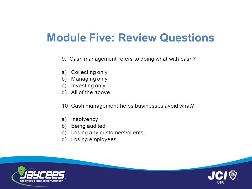 EMBRY RIDDLE MGMT221 5 – Assignment: Module Review
