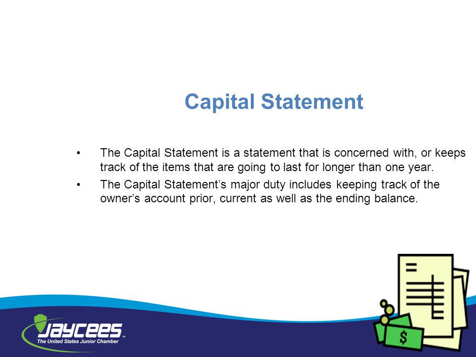 Capital Statement