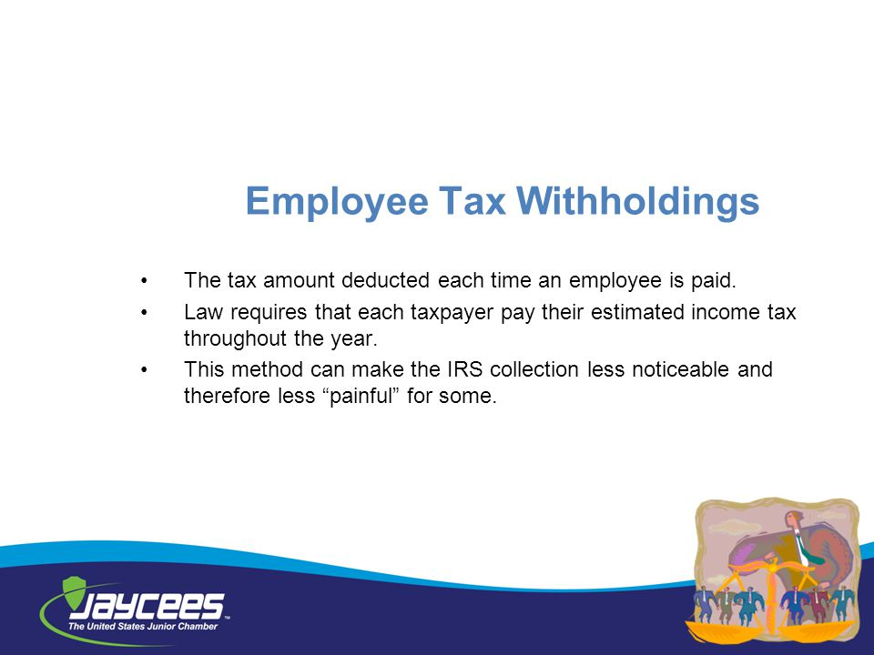 Employee Tax Withholdings