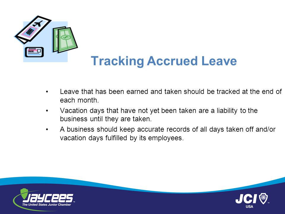Tracking Accrued Leave