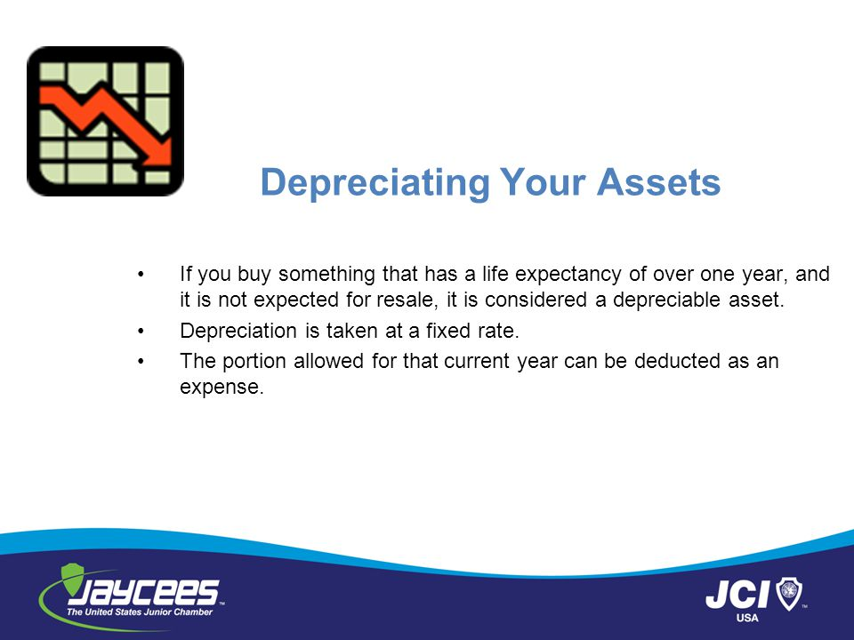 Depreciating Your Assets