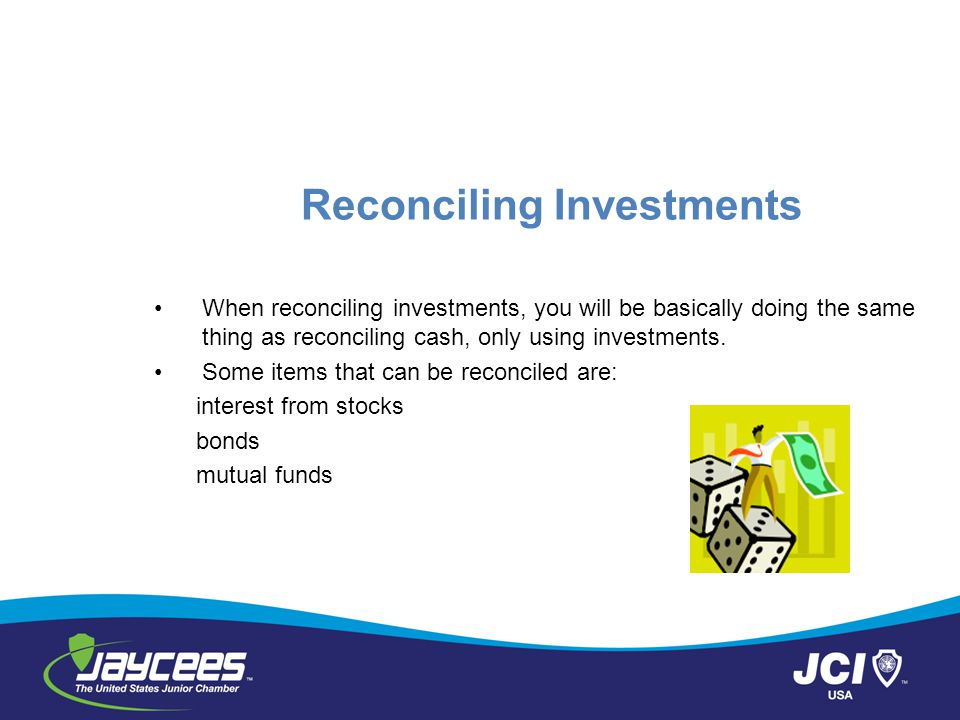 Reconciling Investments