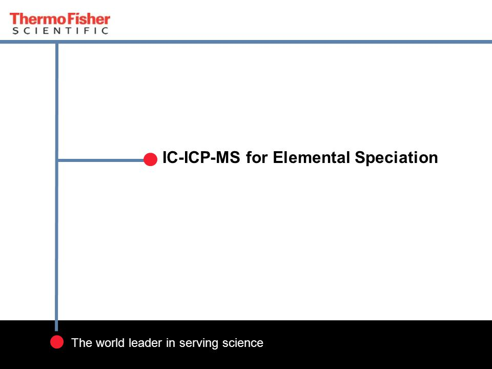 IC-ICP-MS for Elemental Speciation