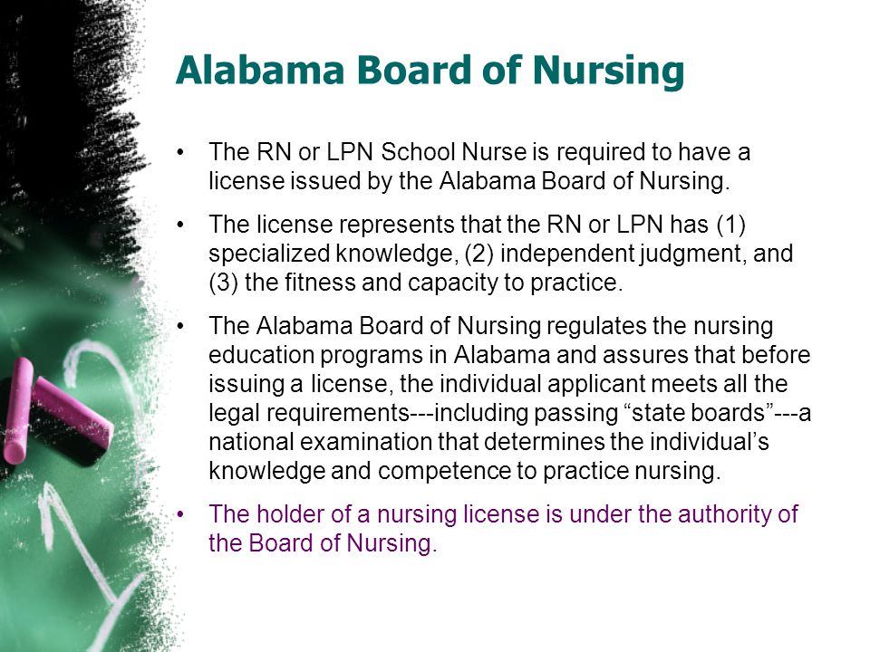 Alabama Board of Nursing