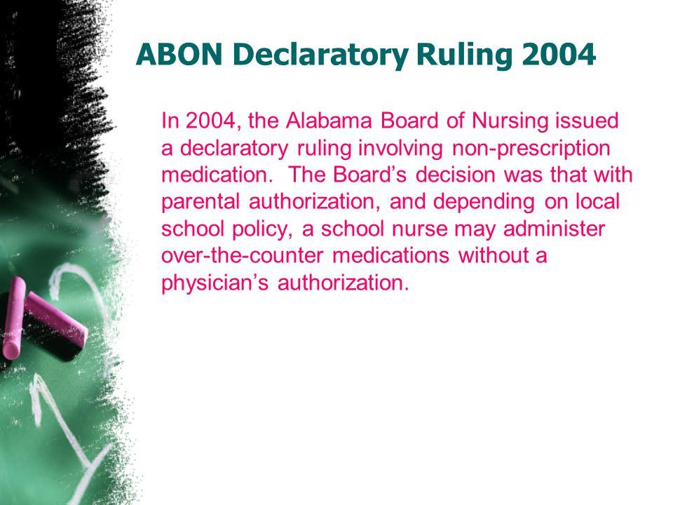 ABON Declaratory Ruling 2004