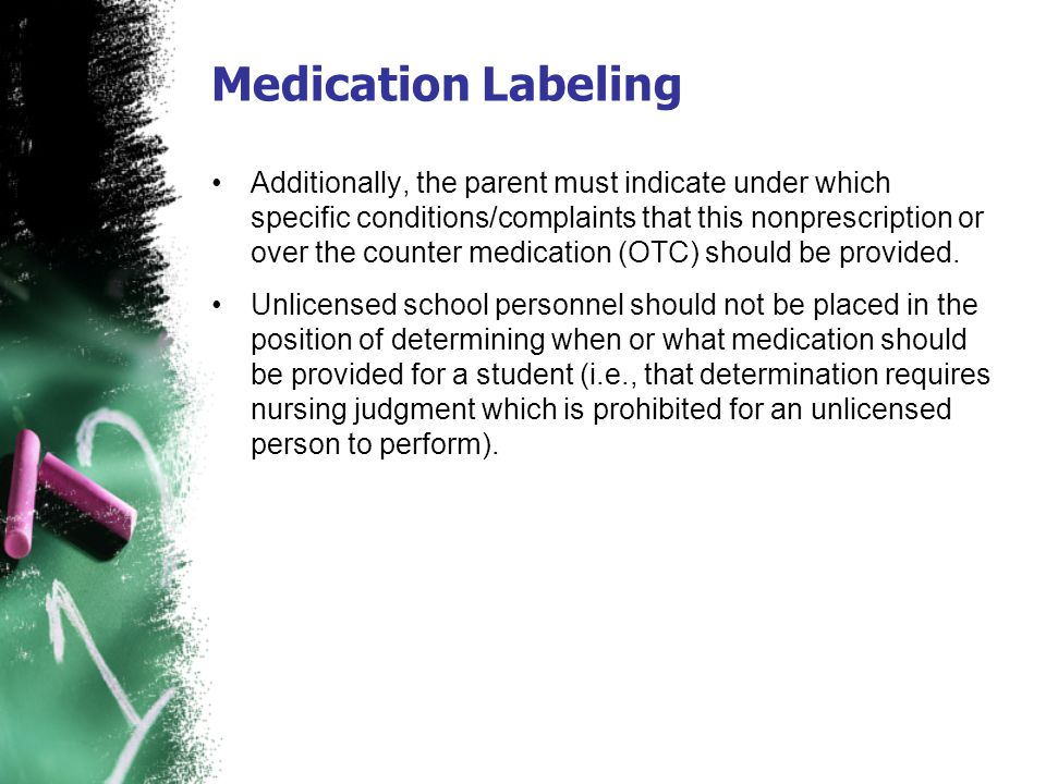 Medication Labeling