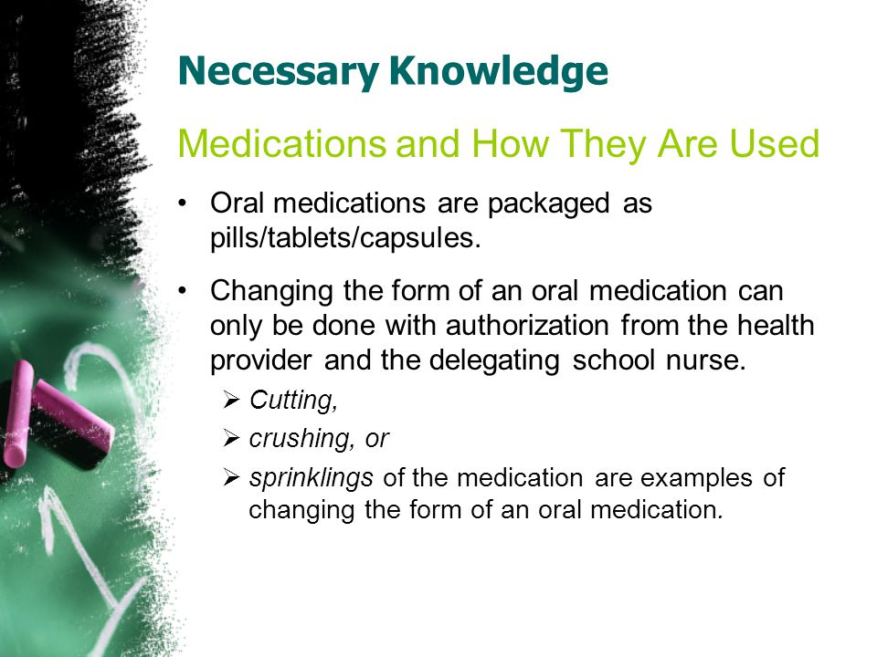 Medications and How They Are Used