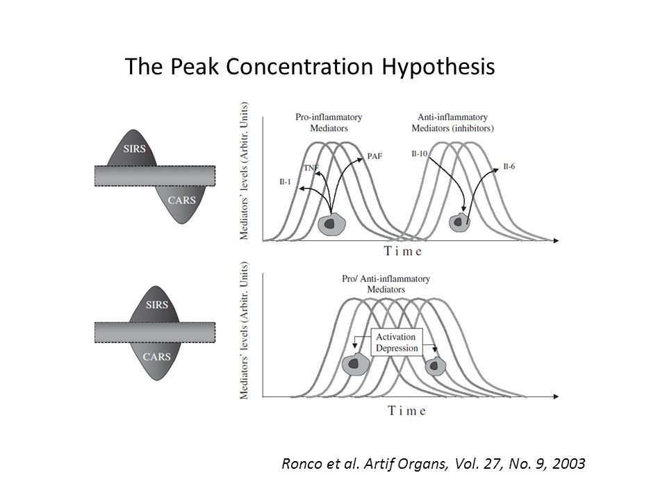 The Peak Concentration Hypothesis