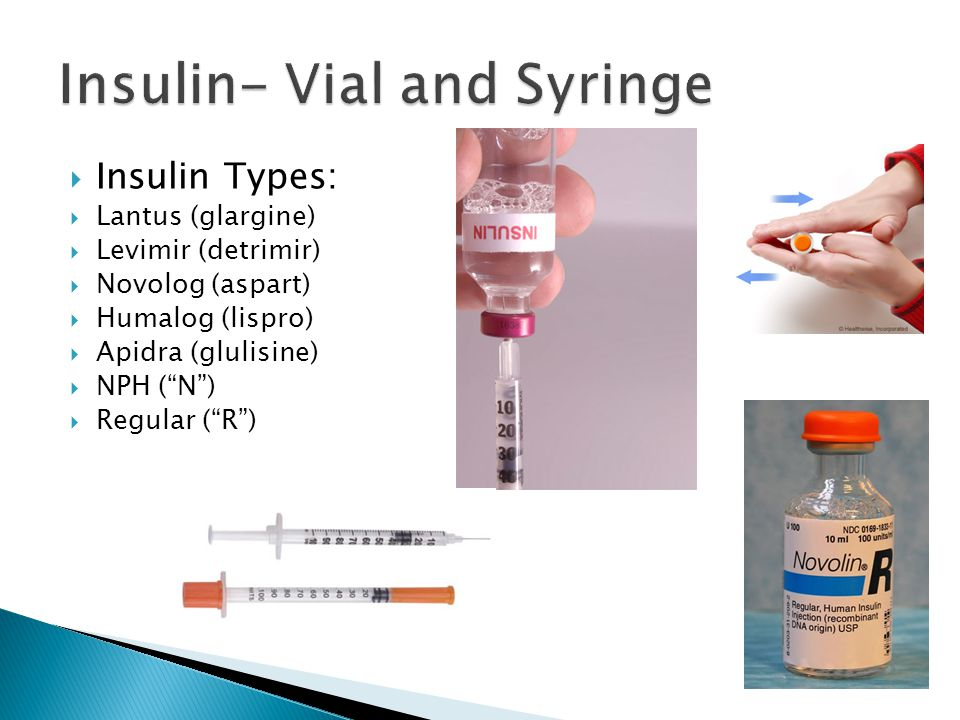 Insulin- Vial and Syringe