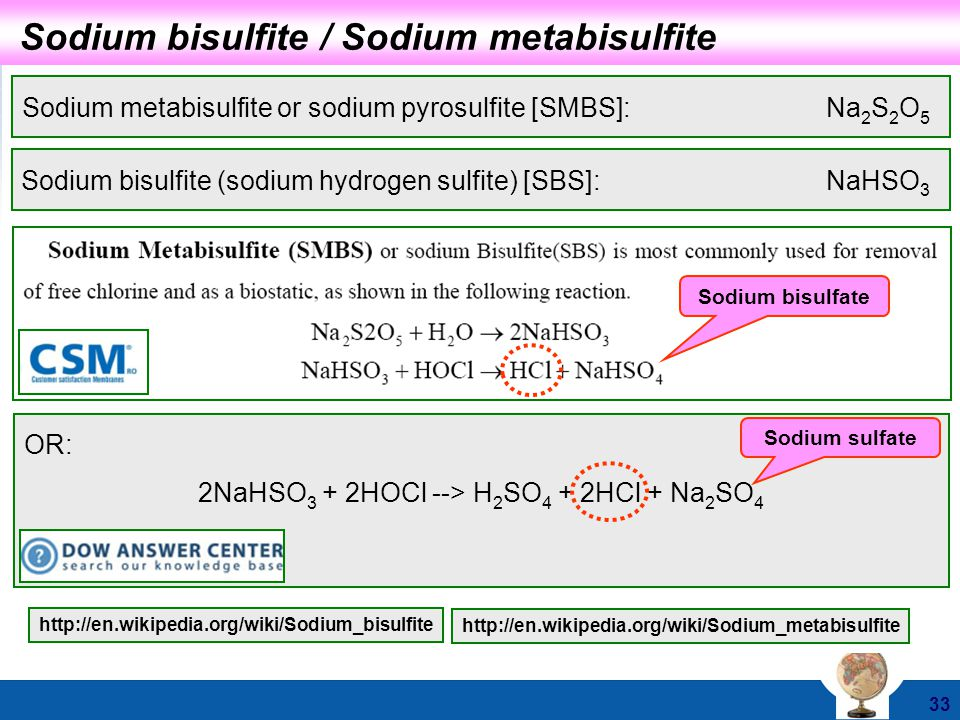 The next generation uv technology ppt video online download for Bisulfite de sodium piscine