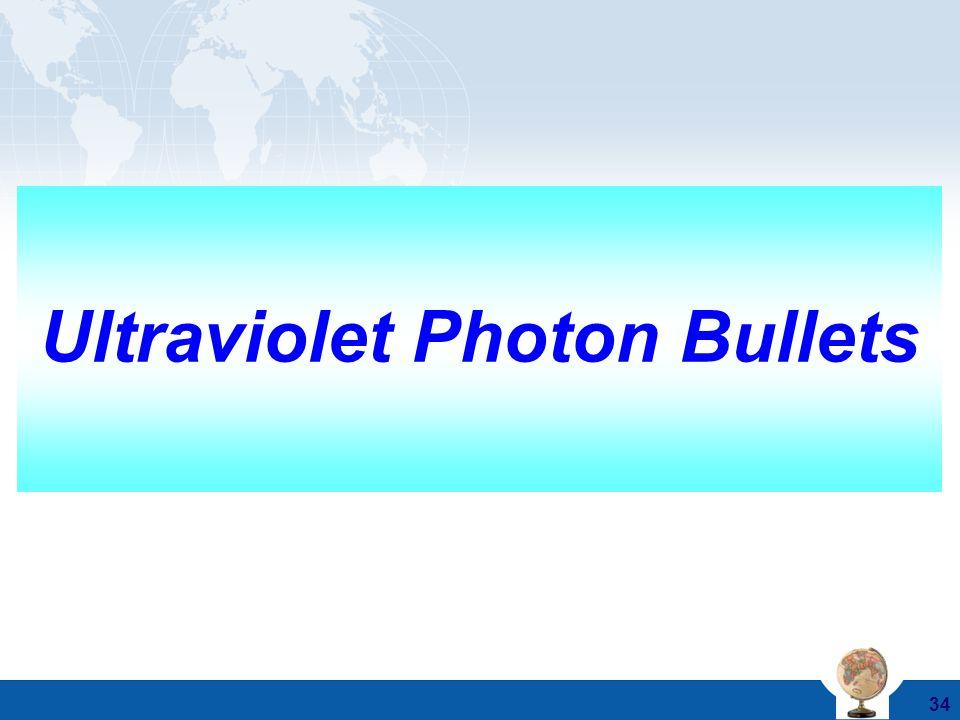 Ultraviolet Photon Bullets
