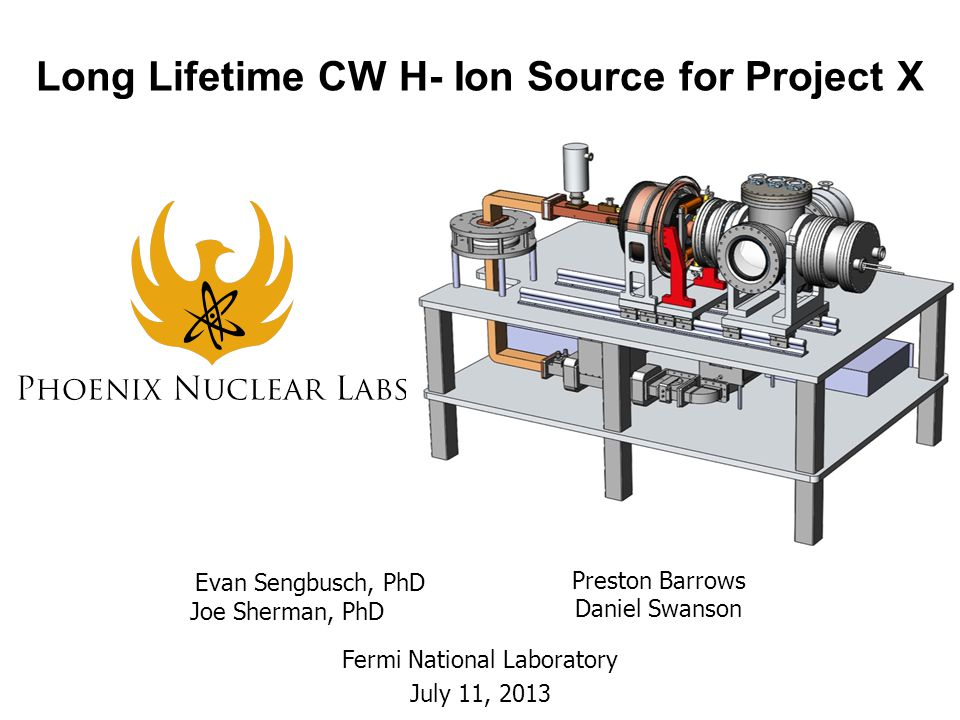 Long Lifetime CW H- Ion Source for Project X