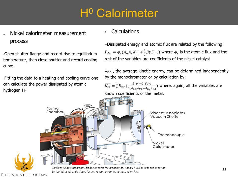H0 Calorimeter
