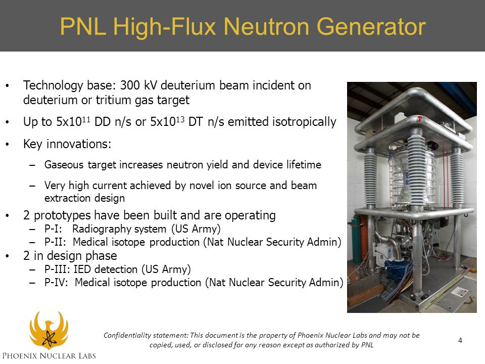 PNL High-Flux Neutron Generator
