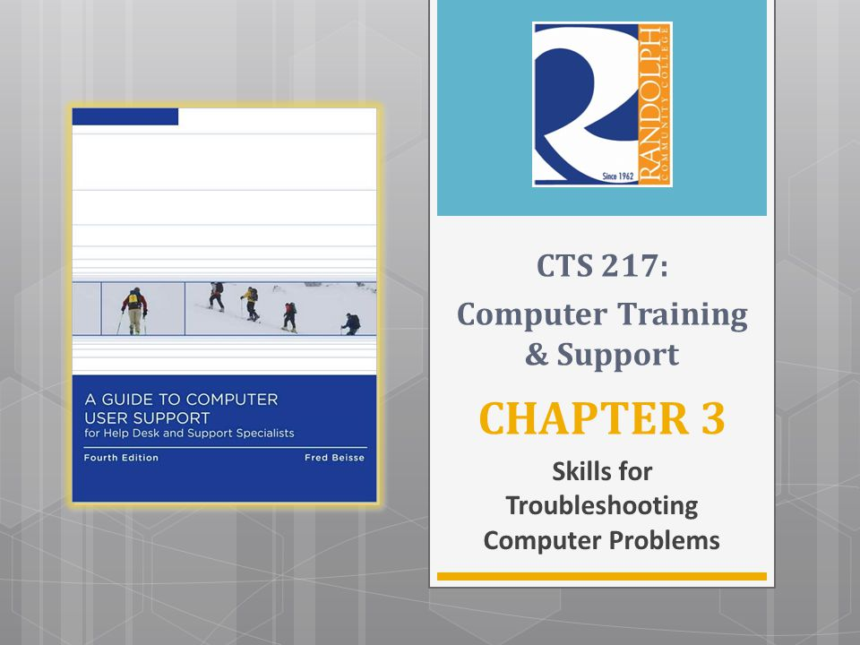 Skills for Troubleshooting Computer Problems