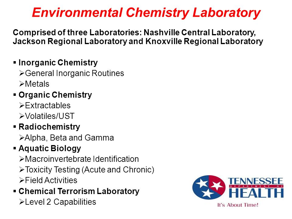 Environmental Chemistry Laboratory