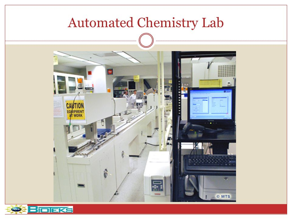 Automated Chemistry Lab
