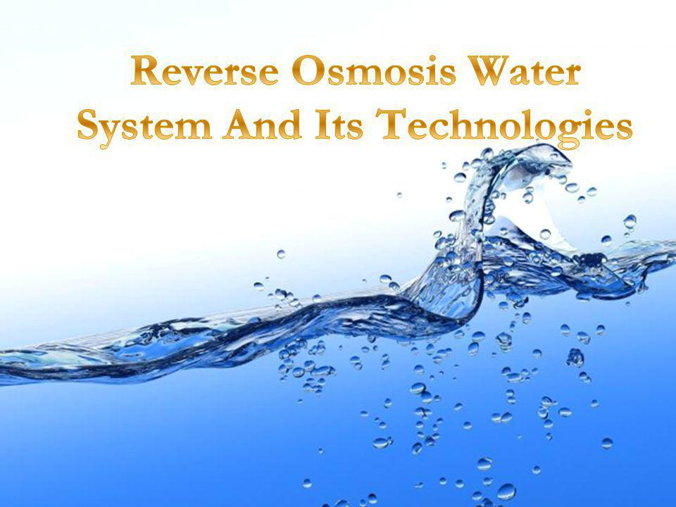Chemistries and Physics of Water Purification