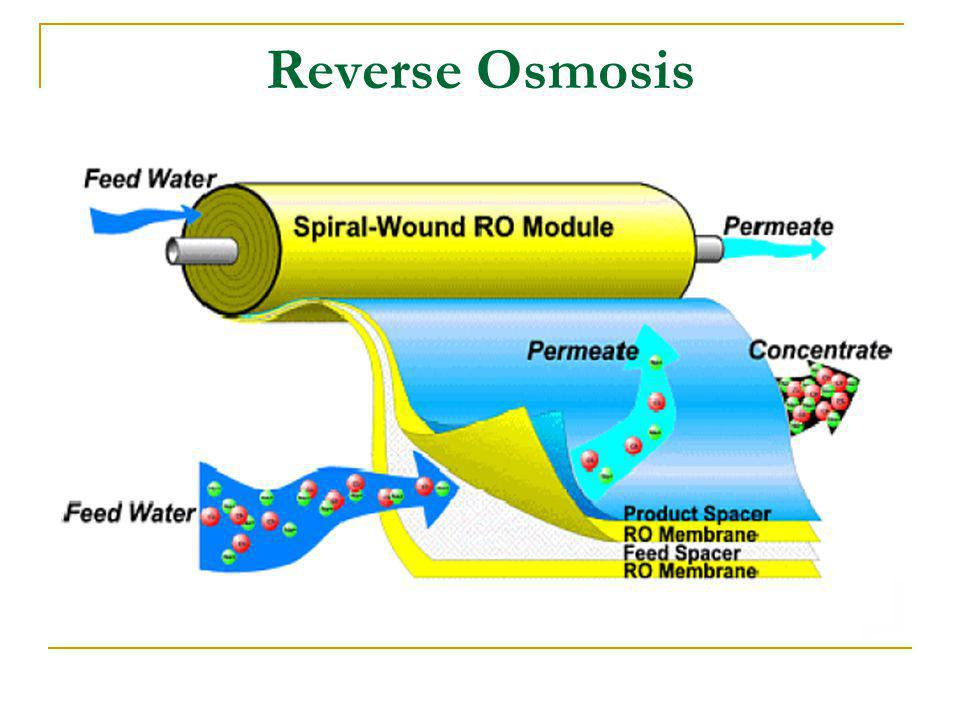 Reverse Osmosis Performance Recovery