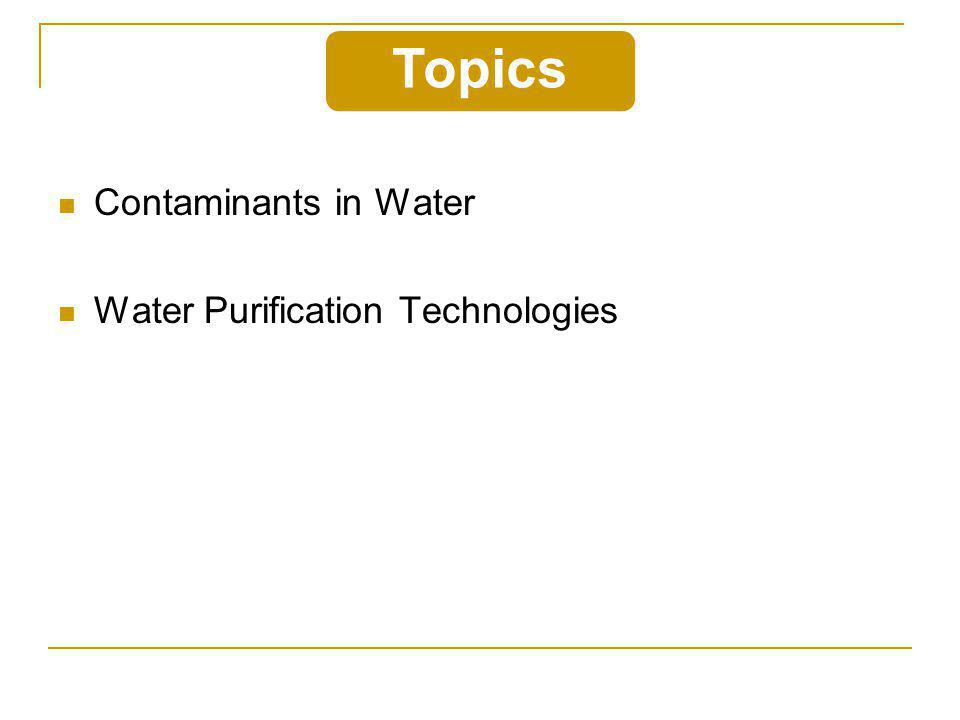 Inorganic Ions (Dissolved Solids)