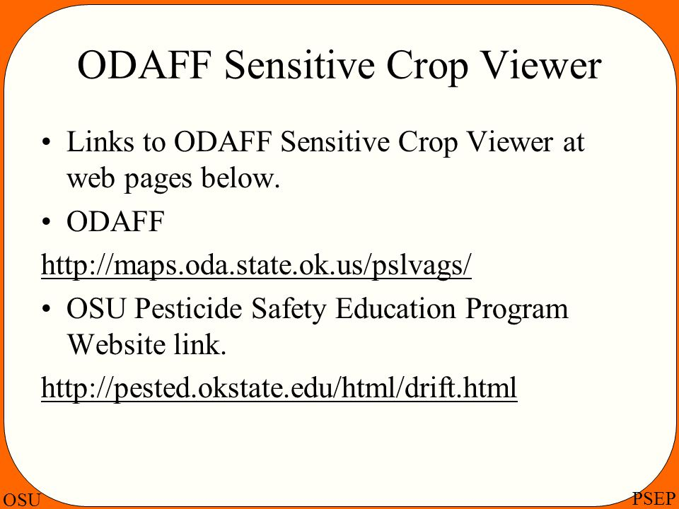 ODAFF Sensitive Crop Viewer
