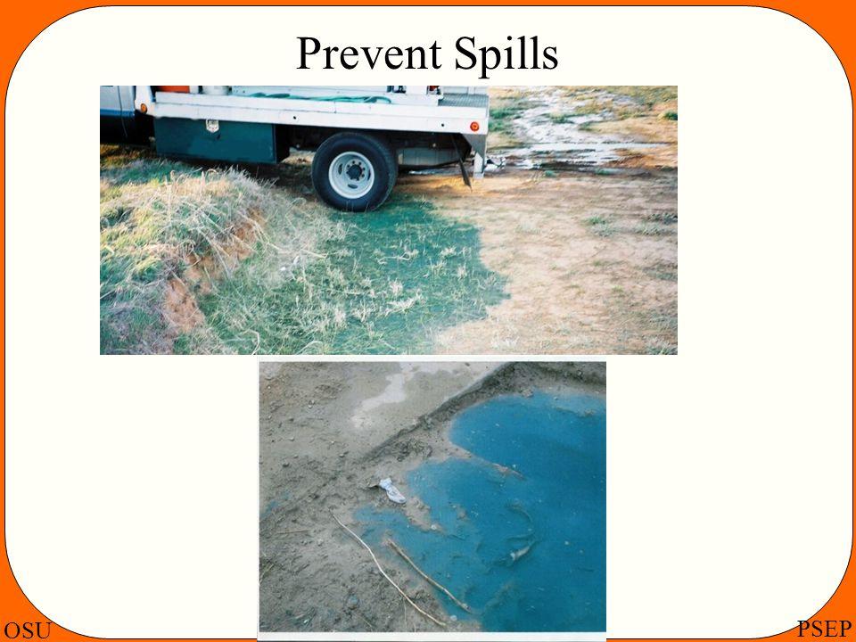 Prevent Spills