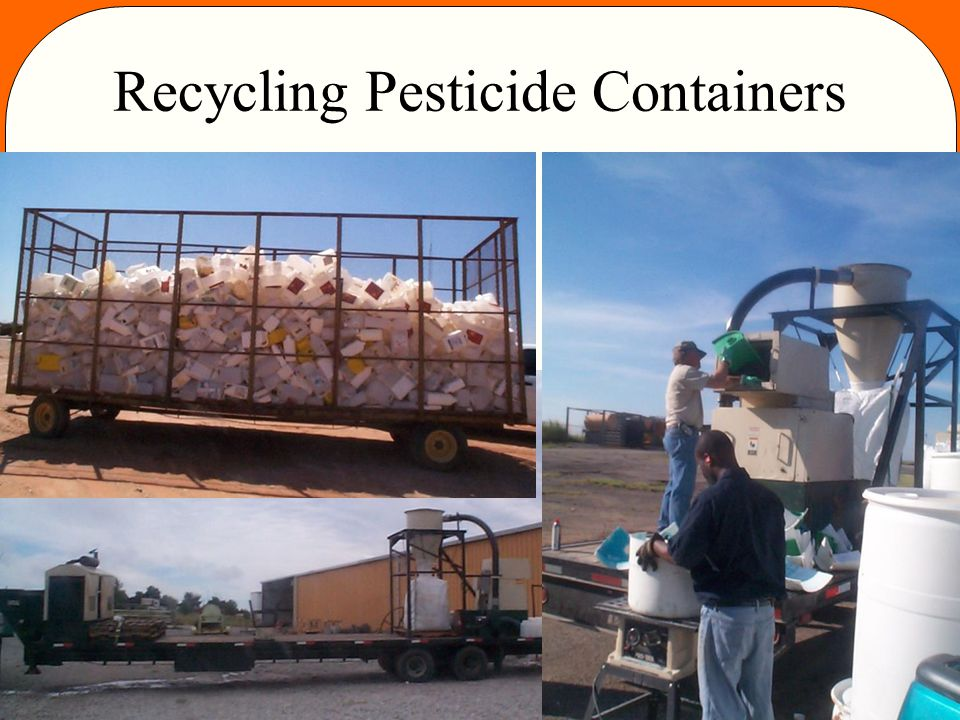Recycling Pesticide Containers