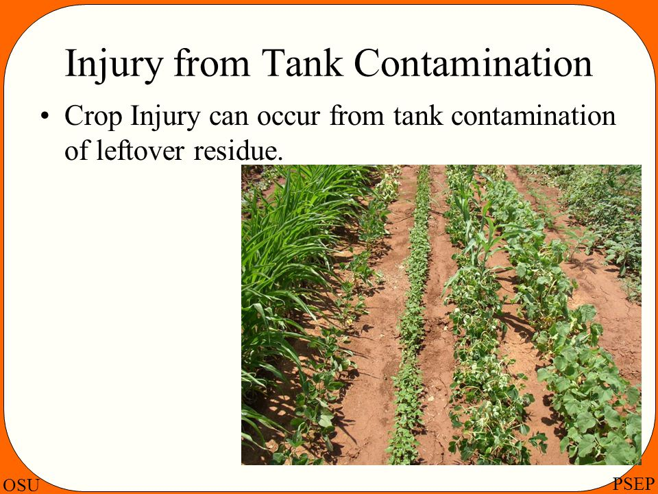 Injury from Tank Contamination