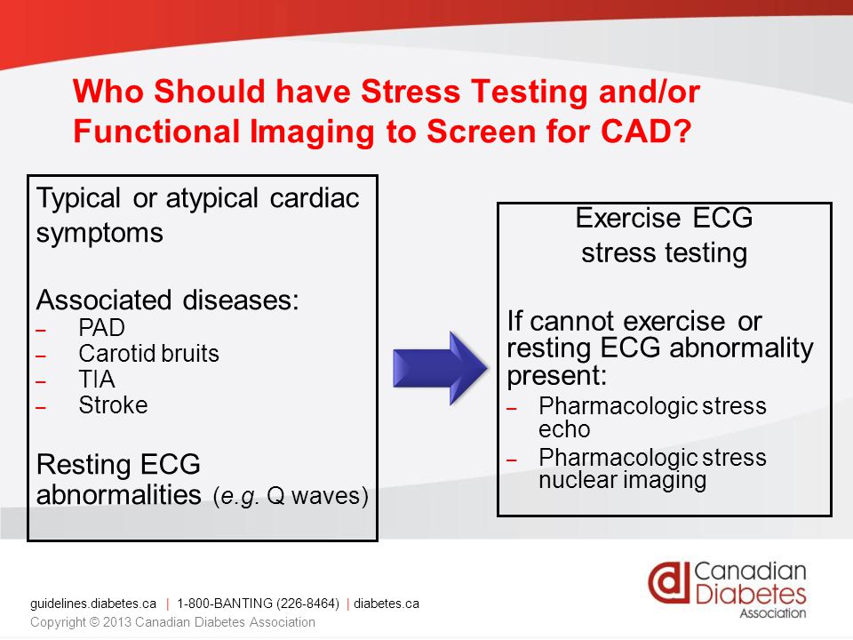 Who Should have Stress Testing and/or Functional Imaging to Screen for CAD