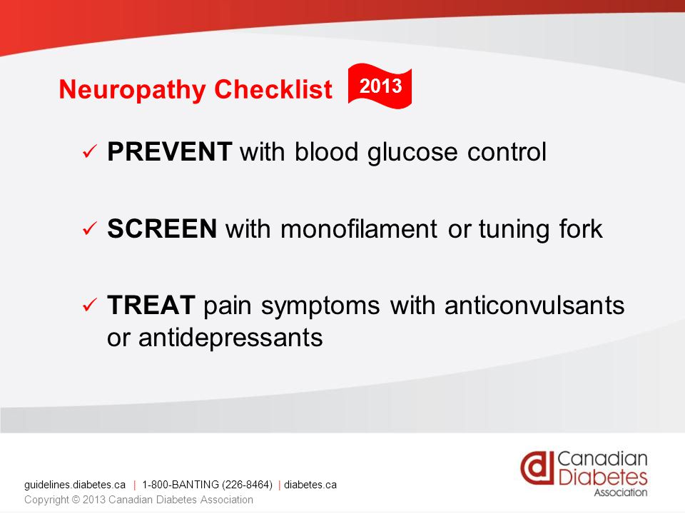 PREVENT with blood glucose control