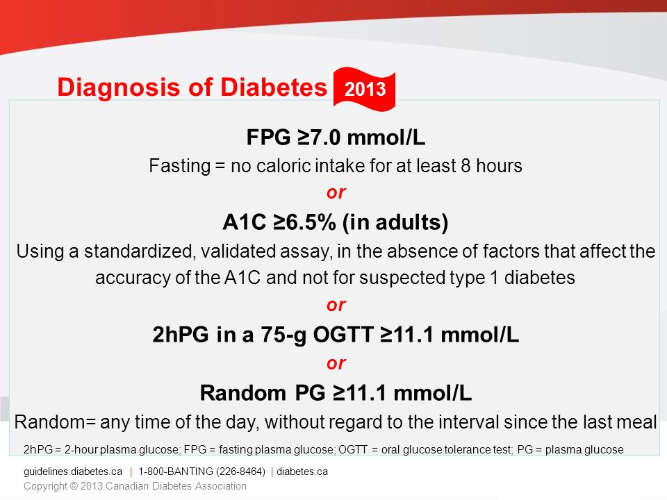Fasting = no caloric intake for at least 8 hours