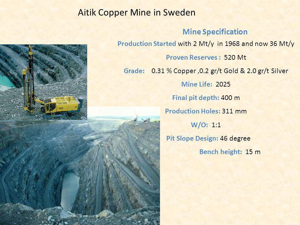 Aitik Copper Mine in Sweden