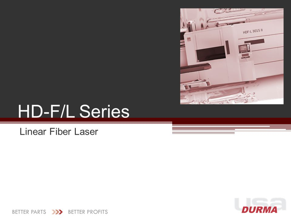 HD-F/L Series Linear Fiber Laser