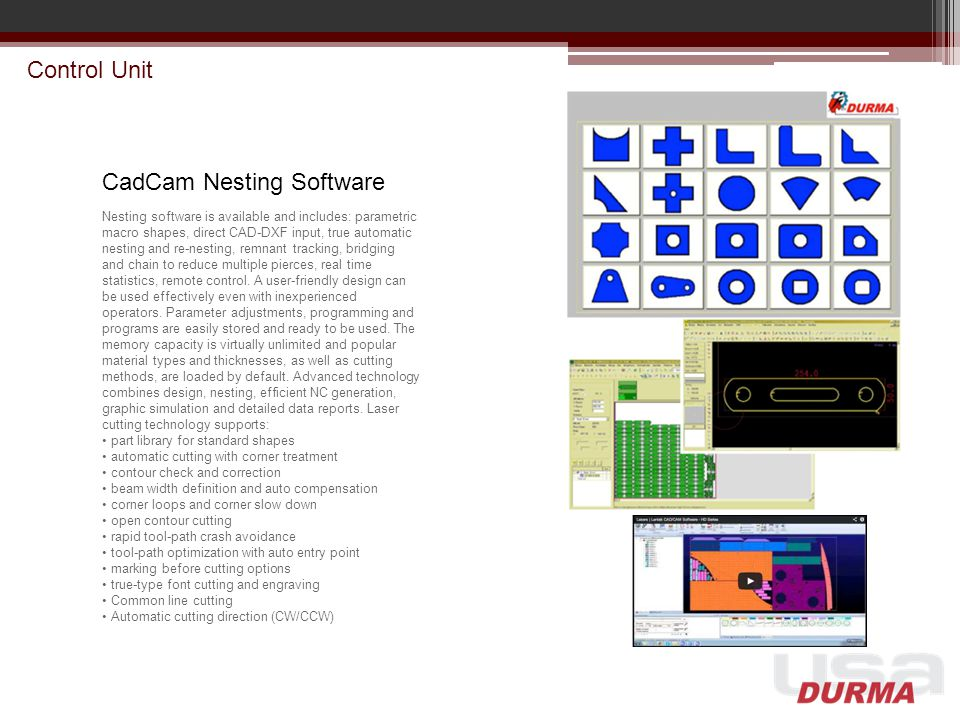 CadCam Nesting Software