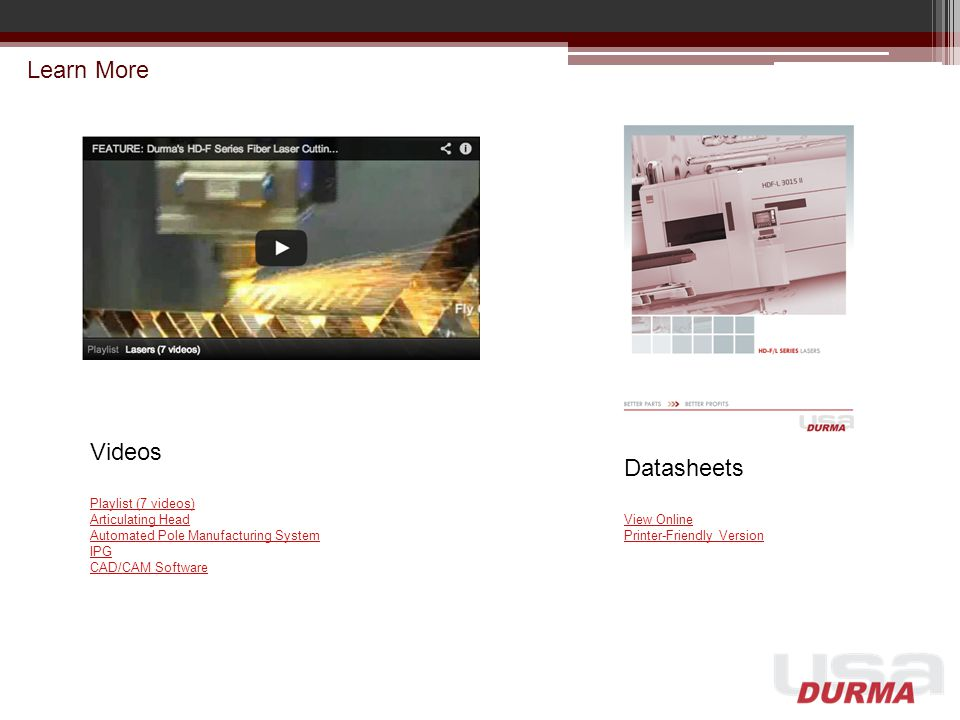 Learn More Videos Datasheets Playlist (7 videos) Articulating Head
