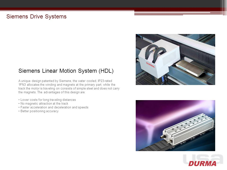 Siemens Linear Motion System (HDL)