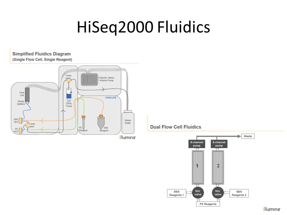 HiSeq2000 Fluidics