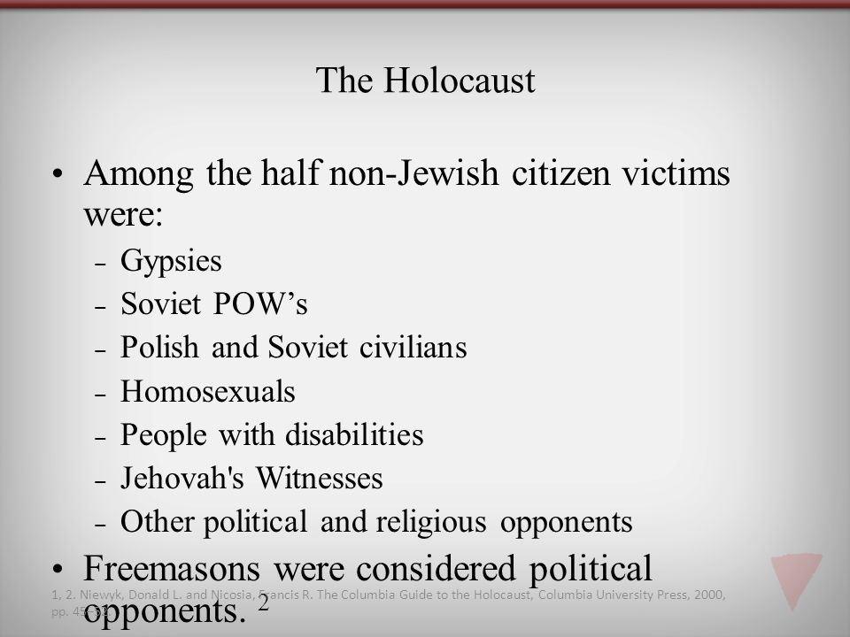 "the holocaust non jewish victims essay Essay on the holocaust for most people, the holocaust evokes feelings of empathy for the victims, and anger toward the persecutors the holocaust, defined as ""the systematic annihilation of."