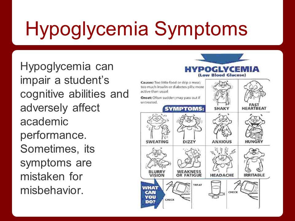 Hypoglycemia Symptoms