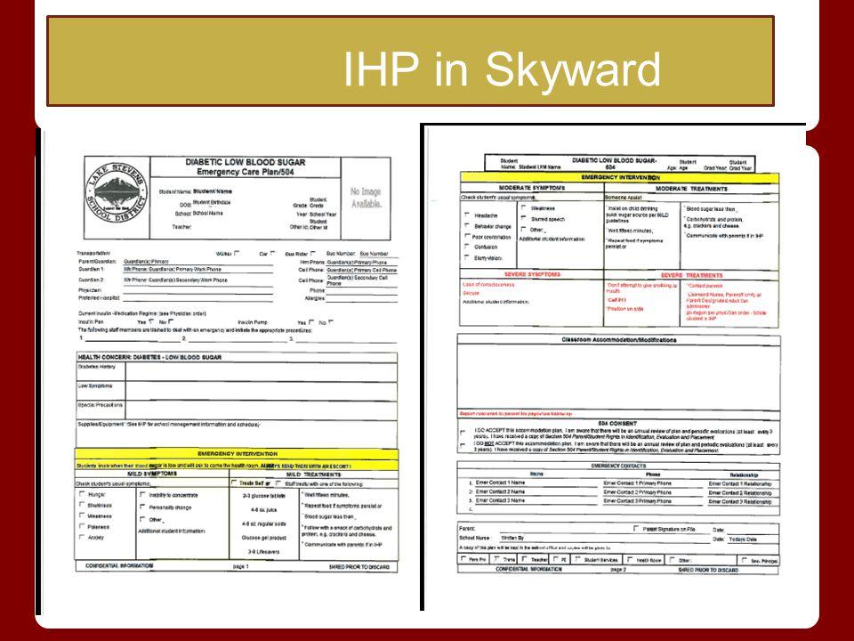 IHP in Skyward IHP in Skyward