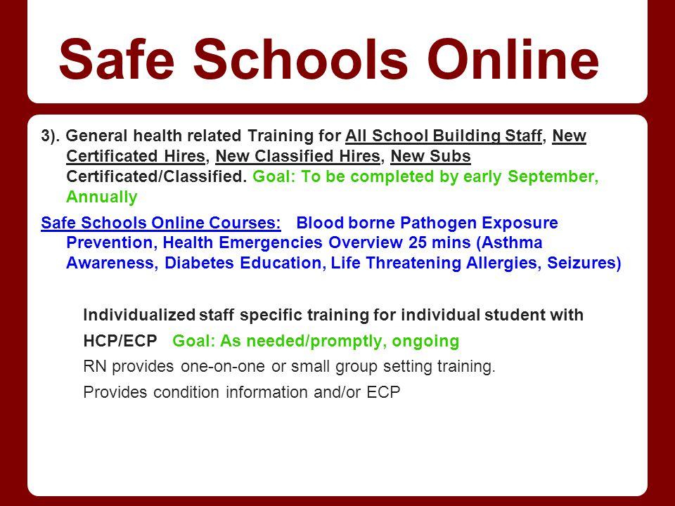 Safe Schools Online