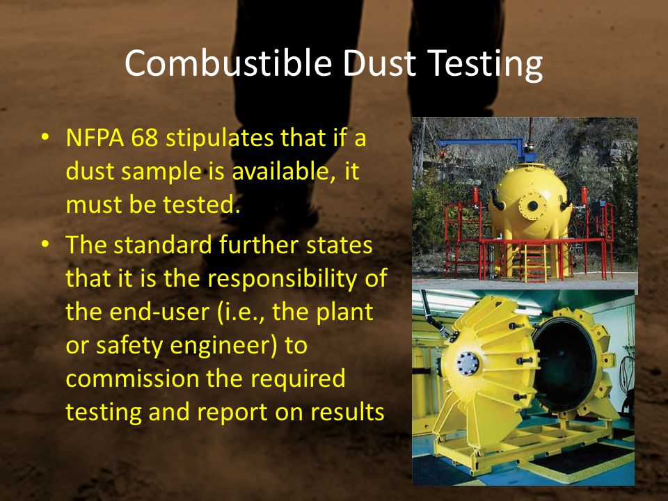 Combustible Dust Testing