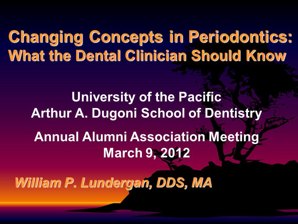 William P. Lundergan, DDS, MA