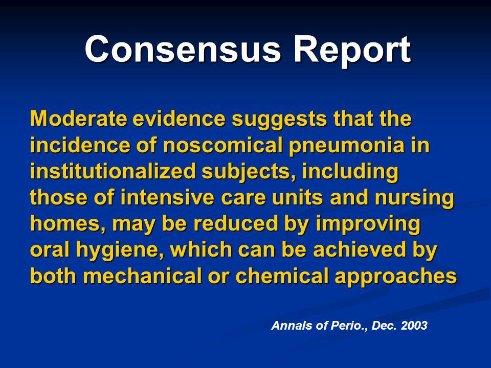 Consensus Report