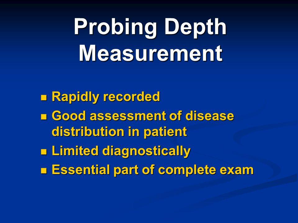 Probing Depth Measurement