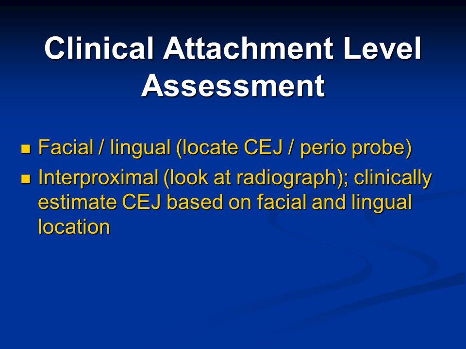 Clinical Attachment Level Assessment