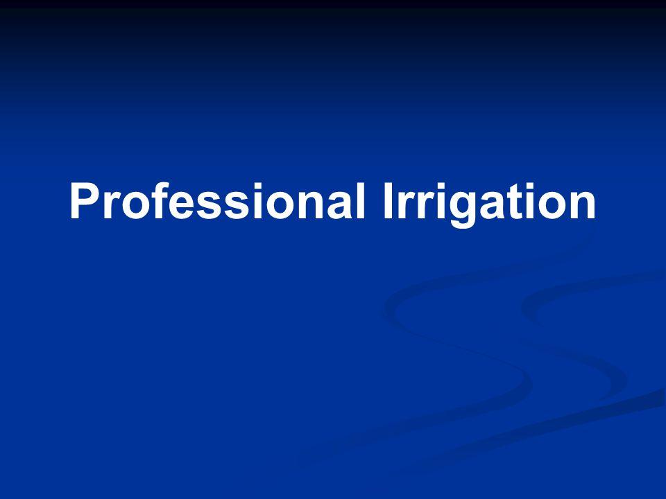 Professional Irrigation