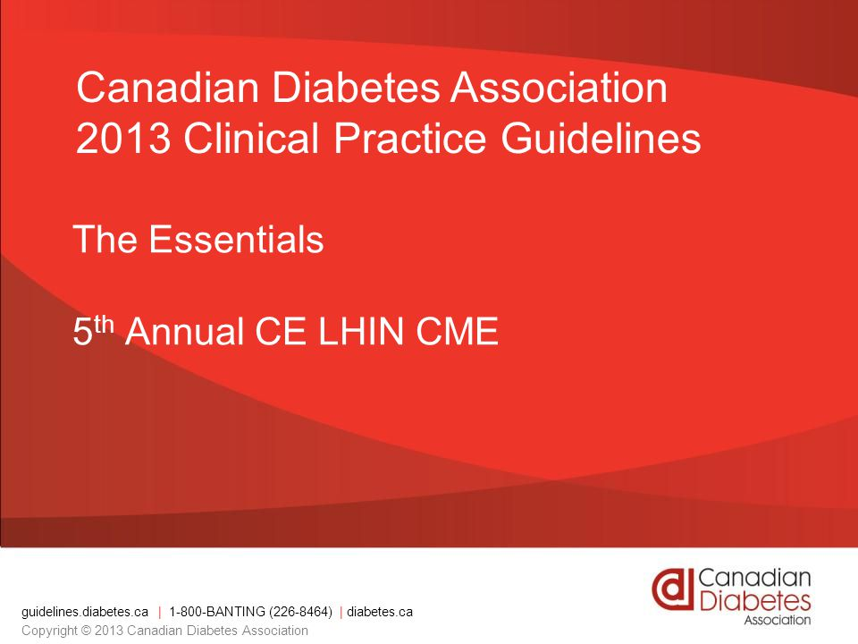 The Essentials 5th Annual CE LHIN CME