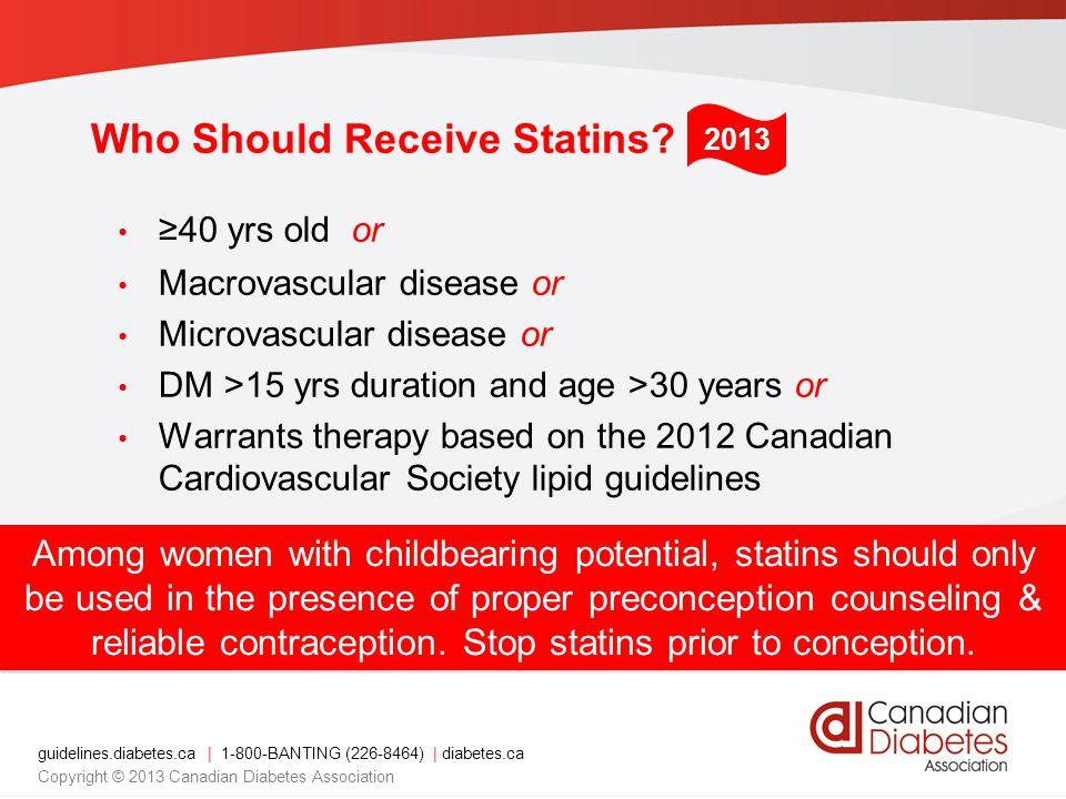 Who Should Receive Statins