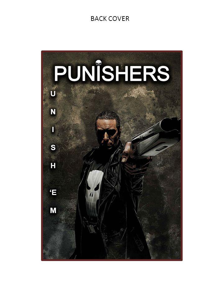 BACK COVER PUNISHERS U N I S H 'E M
